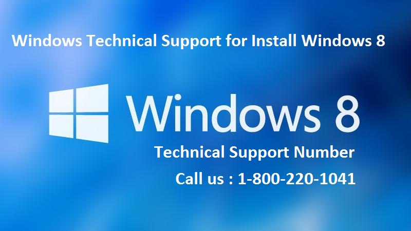 Windows 8 technical support phone number